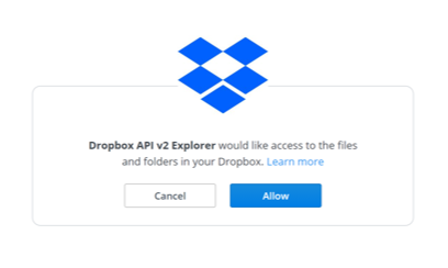 Getting Started - Developers - Dropbox