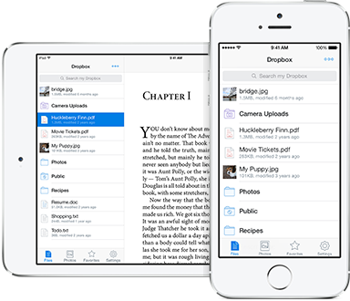 Dropbox for Iphone and Ipad 1.6.0 full