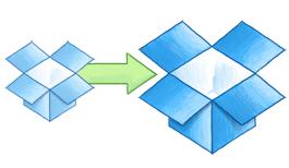 Consigue tanto espacio como necesites con Dropbox para equipos, a partir de 1.000 GB.
